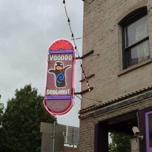 Portland USA Woodoo doughnut