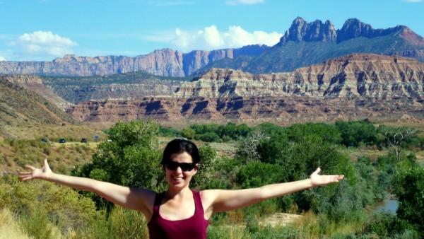 Kika & Zion Canyon.